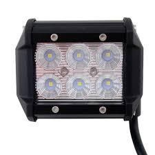 LED WORK LIGHT BAR 4X4 OFF-ROAD ATV TRUCK QUAD FLOOD LAMP 4