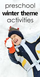 Preschool Winter Activities Teaching Tools Lesson Plans Sensory And Art Ideas Freebies