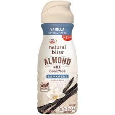 Coffee Mate Natural Bliss Vanilla Flavored Almond Milk Creamer