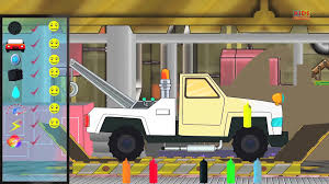 Toy Garage Toy Factory Tow Trucks Kids Video Baby Video - Video ...
