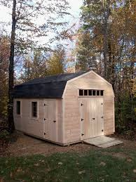 12x16 Gambrel Shed Kits by Pictures