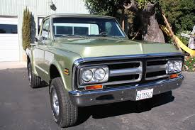 1972 GMC, CHEVY, K 10, SHORT BED, STEP SIDE, 4x4, 4 SPEED CALIFORNIA ...
