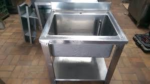 gastro spülbecken waschbecken spüle edelstahl gastronomie