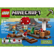 Minecraft Bedding Walmart by Lego Minecraft The Mushroom Island 21129 Walmart Com