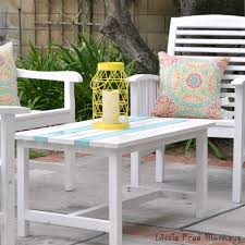 Outdoor Table Plans Free easy 15 diy outdoor coffee table free plans anika u0027s diy life