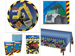 100 Tonka Truck Birthday Party Construction S Supplies Kit Including