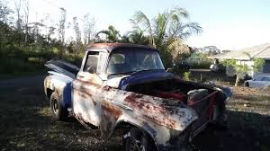 $200 Craigslist 1956 Chevy Rat Rod Truck, Barn Find Muscle Truck And ...