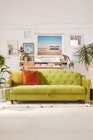 Ava Velvet Tufted Sleeper Sofa Canada by Adeline Storage Sleeper Sofa Urban Outfitters