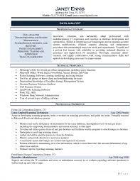 It Business Analyst Resume Samples Resumes Project