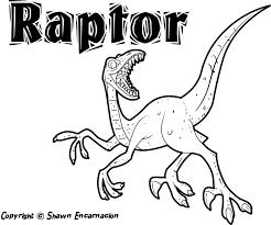 Printable Dinosaur Coloring Pages Preschool Free Animal Sheets