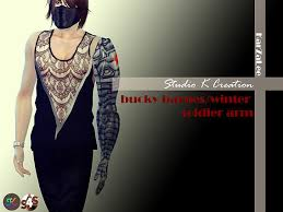 Bucky Barnes Winter Soldier Arm At Studio K Creation Image 1533 Sims 4 Updates