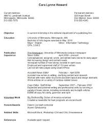 Best Resume For College Student Good