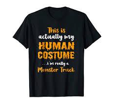 100 Monster Truck Halloween Costume Amazoncom Funny 2018 T Shirt Clothing