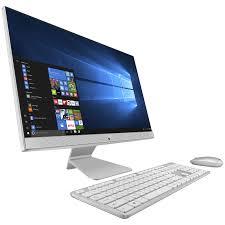 ordinateur de bureau asus asus vivo aio v241icuk wa039t blanc pc de bureau asus sur ldlc com