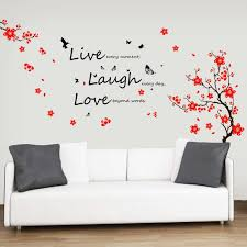wall stickers for bedrooms interior design brown l shade