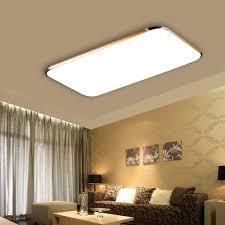 remote living room bedroom modern led ceiling lights 48w