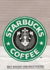 So This Was The Starbucks Logo Prior To 1992 Before Cropped Sirens Bottom Half Out You Could See She Holding Her Two Fin Legs They