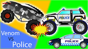 Venom Truck Vs Police Cars For Children - Monster Truck For Kids ... 100 Bigfoot Presents Meteor And The Mighty Monster Trucks Toys Truck Cars For Children Cartoon Vehicles Car With Friends Ambulance And Fire Walking Mashines Challenge 3d Teaching Collection Vol 1 Learn Colors Colours Adventures Tow Excavator The Episode 16 Tv Show Monster School Bus Youtube