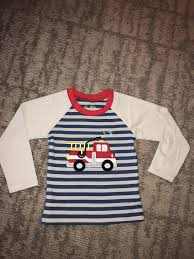 100 Fire Truck Applique Truck Appliqu Ready To Ship Back To School EBGIFTScom Baby