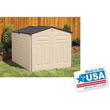 Rubbermaid Slide Lid Shed Instructions by Rubbermaid Roughneck Slide Lid Gable Storage Shed Common 5 Ft X