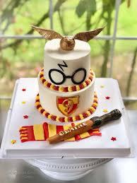 harry potter birthday cake tortendeko schokolade