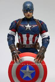 Im A Big Fan Of Captain America But I Didnt Get All The 12 Inch Figures Hot Toys Have Released Only Just Ones Like And This One Is