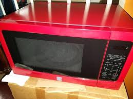 Red Kenmore Microwave Large Carousel In Fort