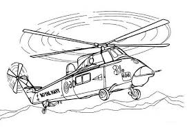 Royal Navy Helicopters Coloring Pages Batch