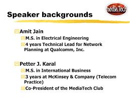 100 Amit Inc Wireless Markets Jain And Petter Karal MediaTech Club