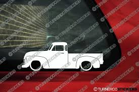 2x Low Car Outline Stickers - Chevrolet Advance Design Classic 50 S ... Top 5 Coolest Lifted And Lowered Classic Chevy Trucks Ez Chassis Swaps Chevrolet Best Image Truck Kusaboshicom 1950 The In Barn Custom 1954 3100 Pickup Tirebuyercom Blog The 50s Petite Autostrach 1957chevytruck Hot Rod Network New Sierra Marks 111 Years Of Gmc Heritage Projects Need Some Information On This 4753 Old 1920 Car Update Images Spacehero