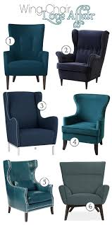 Strandmon Wing Chair Assembly by Best 25 Teal Chair Ideas On Pinterest Teal Accent Chair Teal L