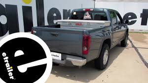 Install Trailer Hitch 2006 Chevrolet Colorado 13252 - Etrailer.com ...