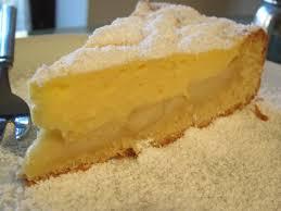 saftiger apfel käse puddingkuchen