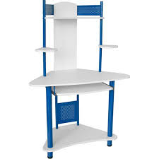 flash furniture student corner computer desk with hutch multiple