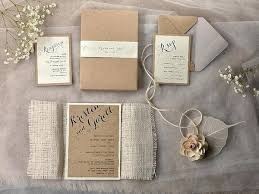 Rustic Wedding Invitation Burlap Layered Square With Tag Templates