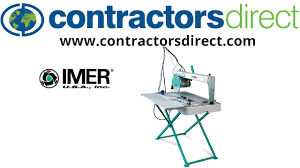 imer tile saw blades imer combi 250va saw from contractors direct