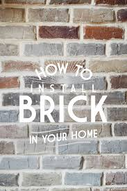 grouting brick veneer vintage revivals