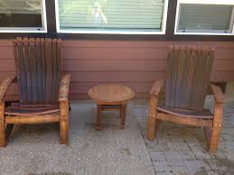 Pallet Adirondack Chair Plans by Wine Barrel Adirondack Chair Plans Wine Oak Barrel Adirondack