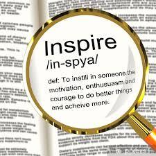 poster inspire definition zeigt motivation ermutigung ein
