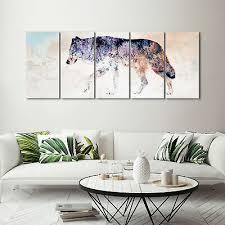 leinwand deko bilder tiere pferde modern wandbilder