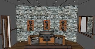 3D Conceptual View Inside A Hidley Style NE Non Environment Control Room