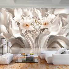details zu blumen vlies fototapete 3d optik lilien abstrakt tapete wandbild wohnzimmer