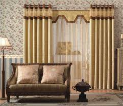 Vertical Striped Window Curtains by Living Room Elegance Living Room Window Curtains Designs With