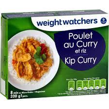 plat cuisiné weight watchers plat cuisiné poulet curry riz weight watchers weight watchers la