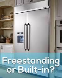 48 Cabinet Depth Refrigerator by Blog Freestanding Vs Built In Refrigerators What U0027s The