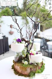 Enchanted Forest Wedding Cake With Branch