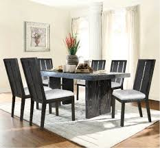7 piece city lights dining room collection intended for aarons