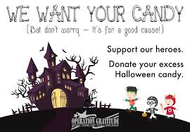 Operation Gratitude Halloween Candy Buy Back by Halloween Dental Care In Burlington Ma