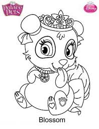 Princess Palace Pets Luxury Coloring Pages