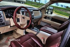 13 ford F150 King Ranch Interior